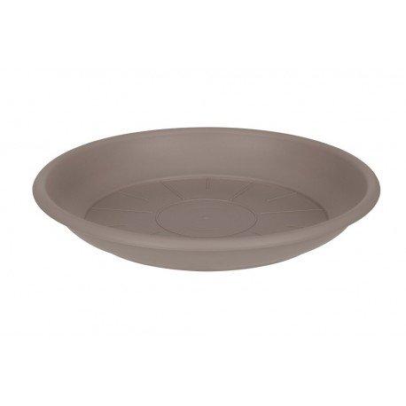 saucer round 42cm taupe