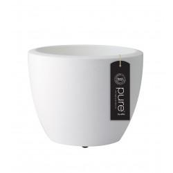 elho vaso pure soft round 30 bianco