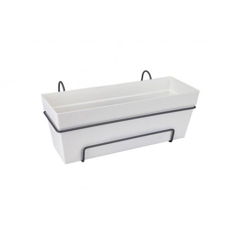 elho Cassetta con riserva d'acqua loft tutto-in-1 50 bianco