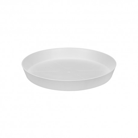 loft urban saucer round 14 white