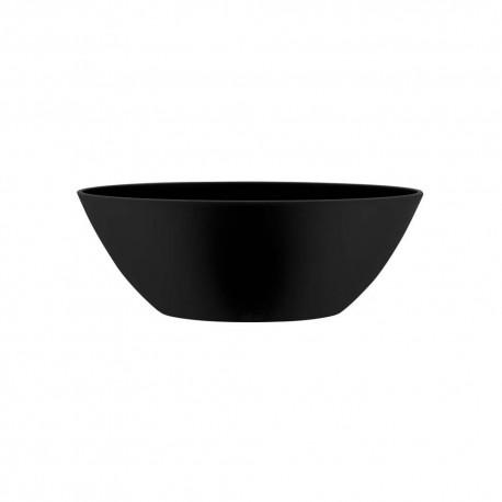 brussels oval 20cm living black