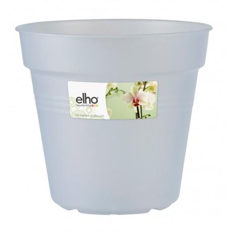 elho vaso per orchidee trasparente green basics 13cm trasparente