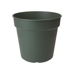 elho vaso da coltivazione green basics 24cm verde foglia