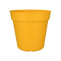 elho vaso da coltivazione green basics 30cm giallo intenso