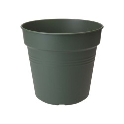 elho vaso da coltivazione green basics 35cm verde foglia