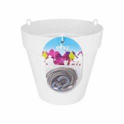 elho Vaso da appendere loft con riserva d'acqua 20 bianco
