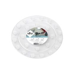 elho floorprotector round 25cm transparent
