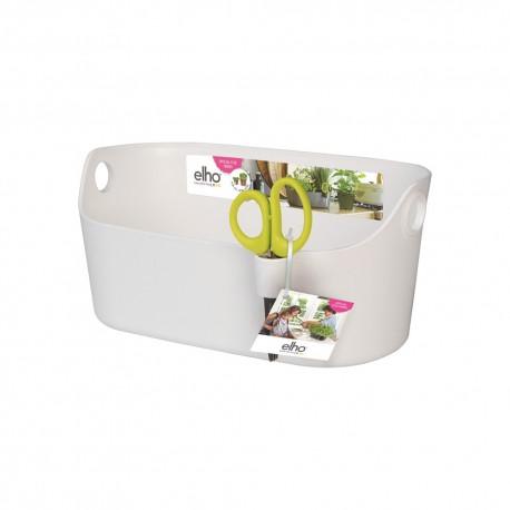 elho Coprivaso brussels per erbe aromatiche station bianco
