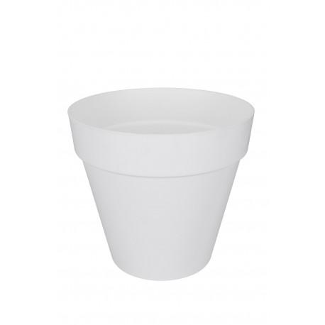 elho Vaso con riserva d'acqua loft 70 bianco