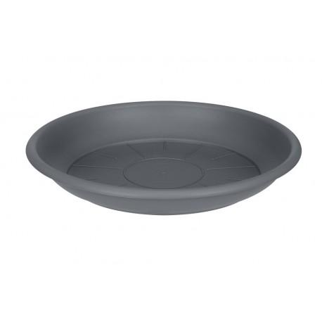 saucer round 16cm anthracite