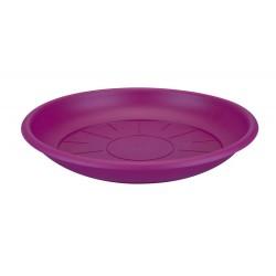 saucer round 21cm cherry